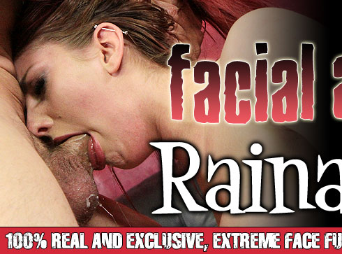 Facial Abuse Destroys Rainia Belle